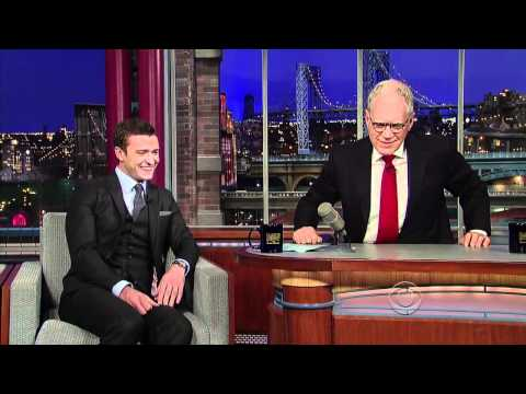 Justin Timberlake On David Letterman  [October 2011 ]