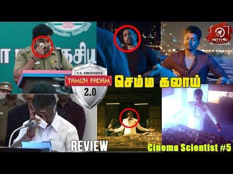 Tamizh Padam 2 Teaser Review | Shiva | Iswarya Menon | CS Amudhan