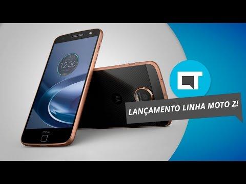 Moto Z Play no Brasil: veja tudo sobre o aparelho por aqui [Evento Lenovo/Motorola]