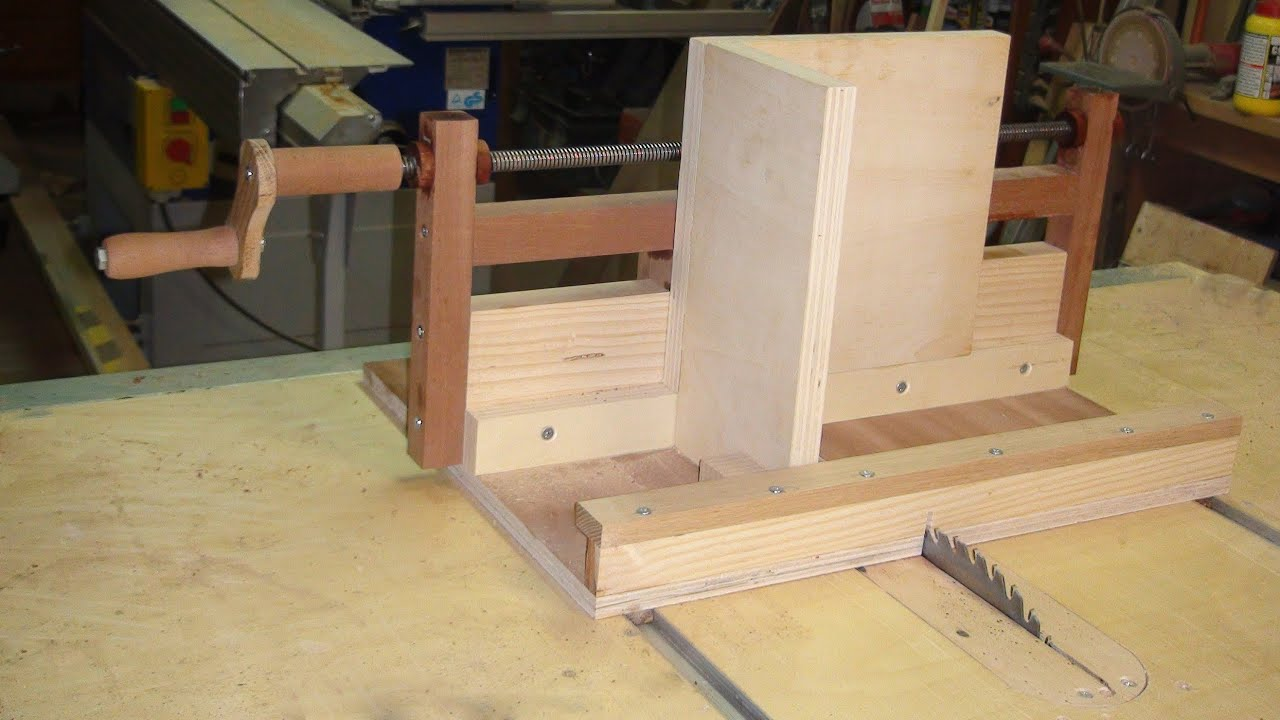 Box Joint Jig to Table Saw - Wood Machine with Exact Screw ...