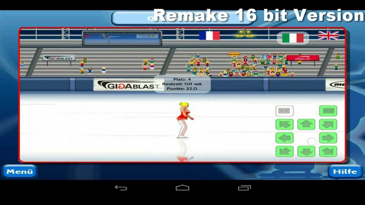 Epyx Winter Games english Android Version