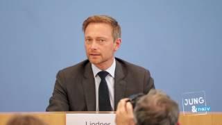 FDP-Chef Christian Lindner nach der NRW-Wahl - Komplette BPK