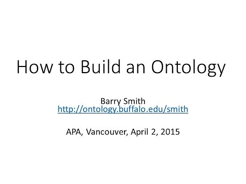 Towards an Ontology of Philosophy