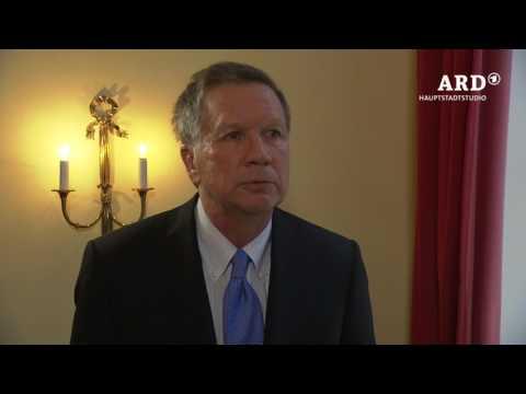 Interview mit John Kasich, Gouverneur von Ohio, 18.02.17, ARD Hauptstadtstudio