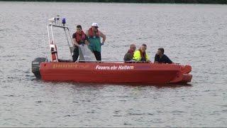 Rettungseinsatz am Silbersee II in Haltern am See
