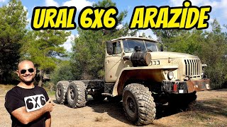 Ural 6x6 Off-Road | We Used S400 Trucks Everywhere (Hilly - Stony terrains)