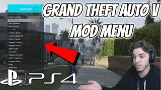 How To Install A GTA 5 Mod Menu On PS4 PlayStation 4 Jailbreak