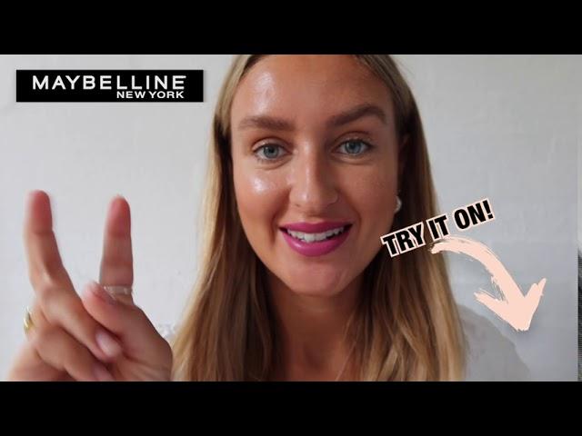 Prøv Super Stay Matte Ink sammen med Maybelline's IT-Girl, Charlotte Caroline