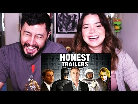 HONEST TRAILERS: EVERY CHRISTOPHER NOLAN MOVIE | Reaction!
