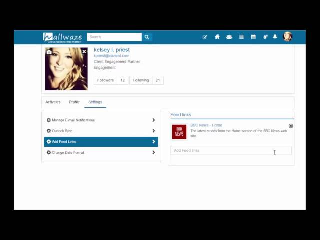How to Setup Your Profile on Hallwaze - YouTube