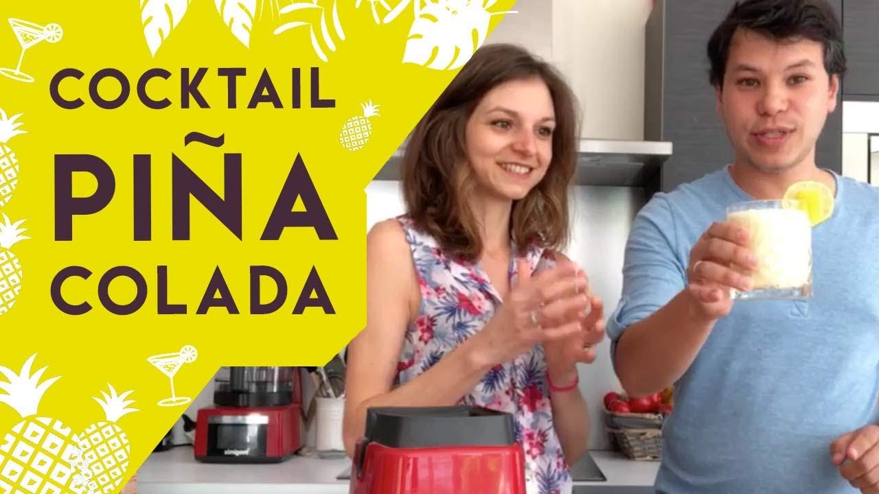 Live : Cocktail Piña Colada - YouTube
