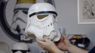 Riveting the Face Plate to the Back & Cap - Building a Screen Accurate Stormtrooper Helmet - S01E02