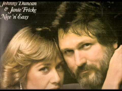 Johnny Duncan & Janie Fricke ~   Thinkin' Of A Rendezvous (Vinyl)
