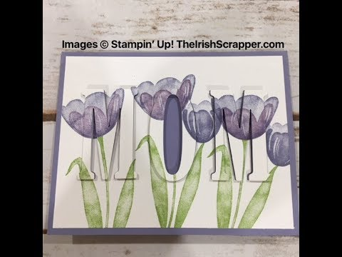 Stampin' Up! Mother's Day Eclipse Card Episode 256