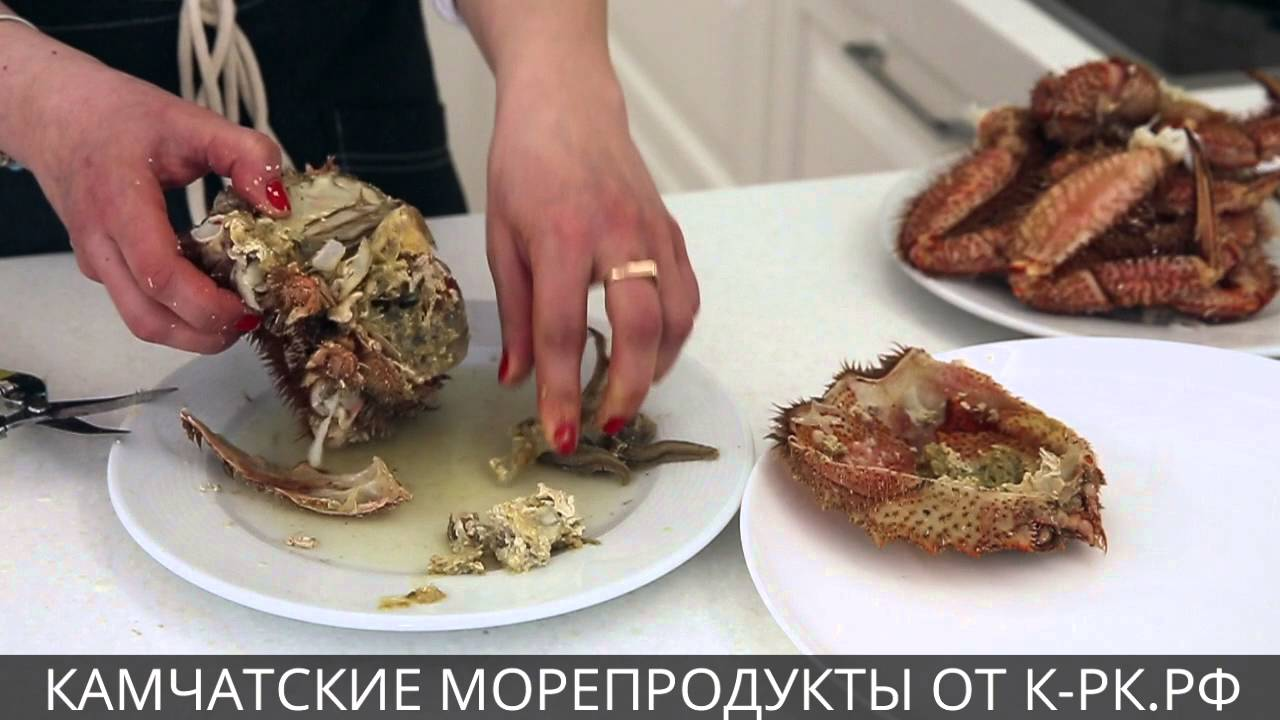Как приготовить краба-волосатика