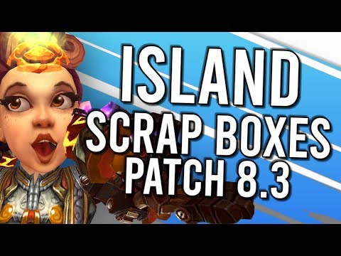Patch 8.3 Added ISLANDS \