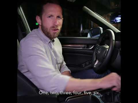 2018 Honda Accord Reveal – Interior