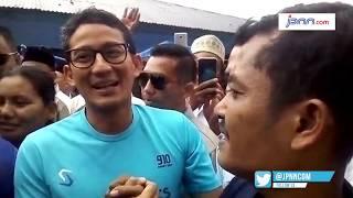 Ditolak Warga, Sandiaga Uno Malah Merangkul - JPNN.COM