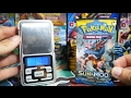 THE BRAND NEW SET!! Weighing 18 Pokemon Sun and Moon Booster Packs!!! - BoosterKings