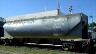 Tren cargado de FEPSA rumbo a General Deheza