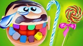 Мистер Зубастик Испорченные зубы Видео с игрушками Плэй До