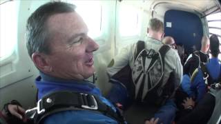 Robert Horn SKYDIVES!!!!