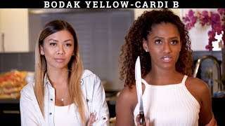 BODAK YELLOW/SONGS IN REAL LIFE- OFFICIAL JANINA