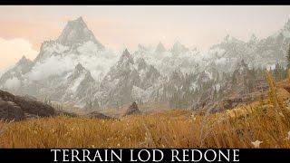 Skyrim SE Mods: Terrain LOD Redone