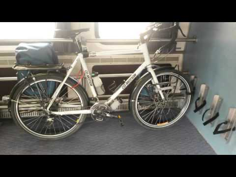 Amtrak Bicycle Service Onboard The Amtrak Pacific Surfliner Train