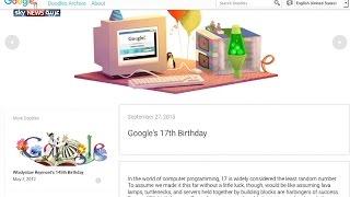 غوغل تحتفل بذكرى تأسيسها الـ17      27-9-2015