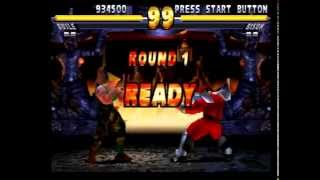 Street Fighter EX 2 Plus (PlayStation) Arcade as Guile