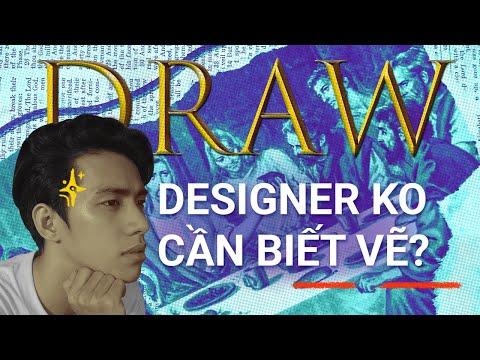 Học thiết kế có cần biết vẽ không?