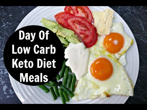 What I Eat In A Day - 1st Day of Low Carb High Fat Keto Diet