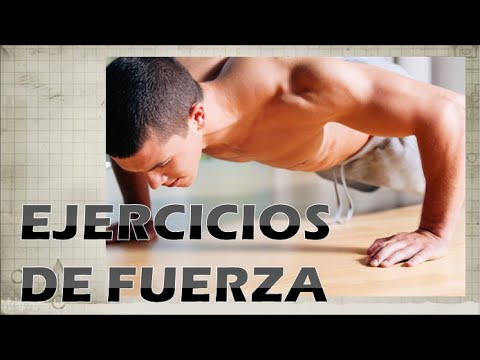 Ejercicios de fuerza física - Cuatro consejos para practicarlos