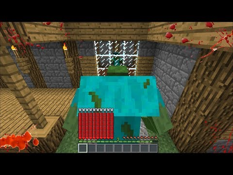 BEING A MUTANT ZOMBIE AND VISITING MARK'S HOUSE OUR FRIENDLY ZOMBIE !! Minecraft Mods
