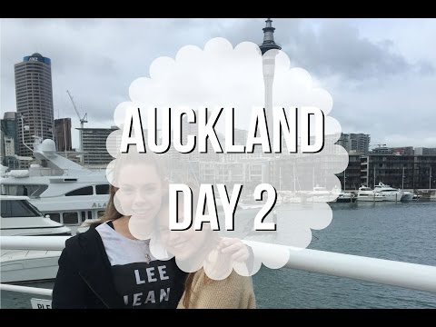 Auckland Day 2! - Viaduct & Shopping