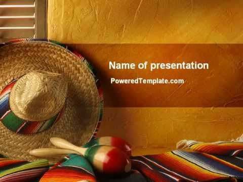 tour to mexico powerpoint template by poweredtemplate com youtube