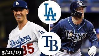 Los Angeles Dodgers vs Tampa Bay Rays - Full Game Highlights | May 21, 2019 | 2019 MLB Season