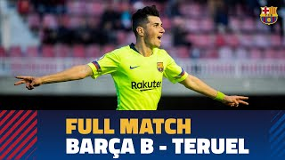 [PARTIDO COMPLETO] Barça B - Teruel (2-1) | 2ª División B