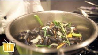 Miesmuscheln kochen - Französische Küche mit Pierre