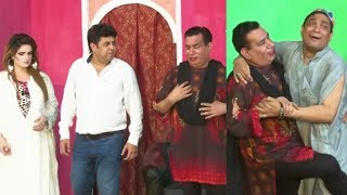 Nasir Chinyoti and Khoobsurat Kaif with Naseem Vicky Stage Drama Ghar Aaja Dholna Comedy Clip 2019
