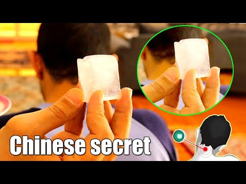 Here's what happens when you put an ice cube on your neck, traditional chinese medicinechinesesecret