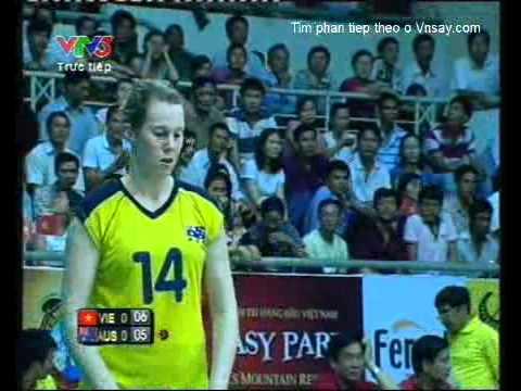 Giải bóng chuyền nữ quốc tế VTV cup 2011 Việt Nam Vs Autralia