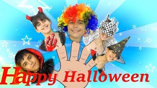Happy Halloween finger family - Daddy finger song By Guka Family Show