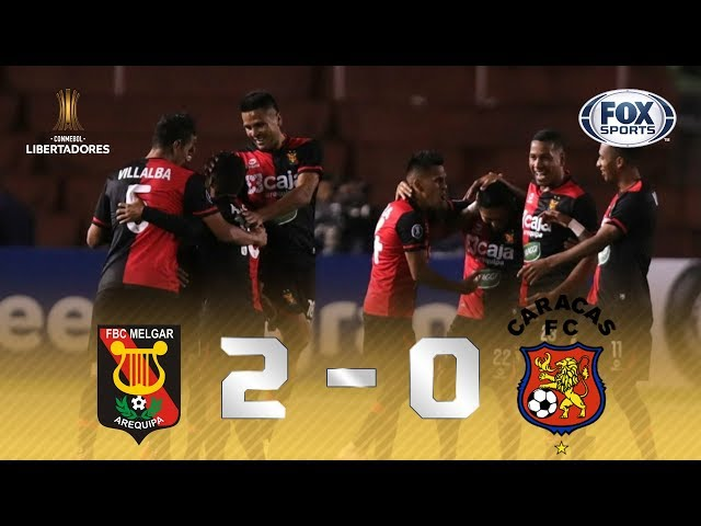 Melhores momentos de Melgar 2x0 Caracas, pela Libertadores