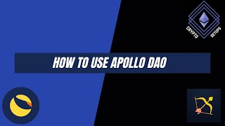 How to use Ap๐llo DAO - Tutorial 2021