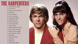 The Carpenters Best Love Songs Ever - The Carpenters Greatest Hits Full Album 2018