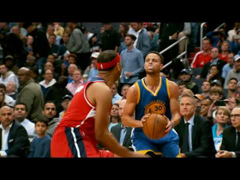 Stephen Curry慢動作投籃