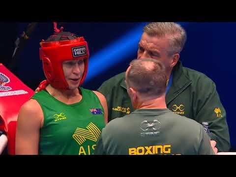 BUSENAZ SÜRMENELİ (TUR) vs KAYE FRANCES SCOTT  (AUS) 69KG aiba women's world box