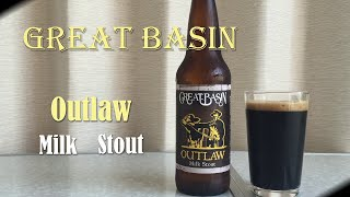Great Basin Outlaw Milk Stout (グレイトベイスンアウトローミルクスタウト) + Bar Hopping | Akihabeera